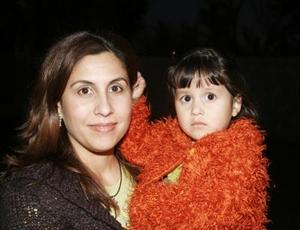 Andrea de Lara Portilla con su mamá, Ana Portilla de De Lara