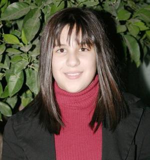 Estefanía Elósegui de la Garza celebró su decimotercer cumpleaños.