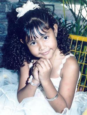 Karely Esparza Martínez cumplió siete años de edad, por lo que fue festejada con una fiesta