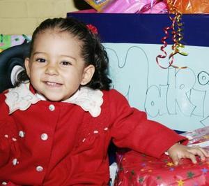 La pequeña María José Cruz Muñoz celebró su cumpleaños