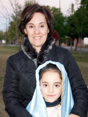 Leticia e Isabela Zablah.