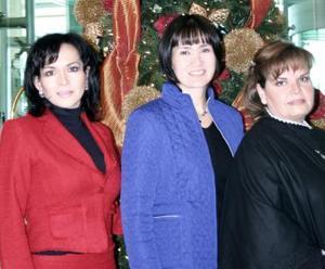 Brenda Monárrez, Yola de Montoya y Eloísa de Guevara.