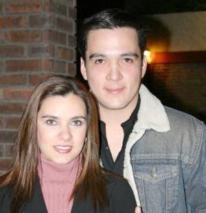Martha Dávila y Enrique Cervantes.