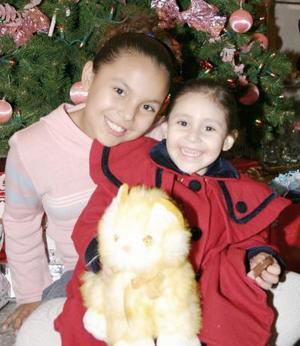 Sofia y Laurita Betancourt.