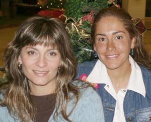Arlette Abularach y Vivi Rocha