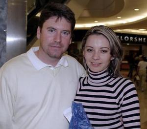 David Solís y Nancy Cháirez.