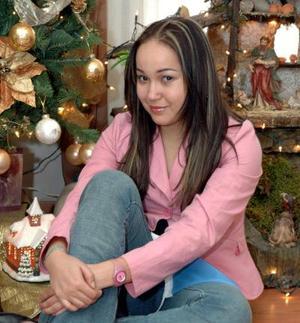 Alicia Guerrero González llegó preocedente de Aórdoba Argentina para disfrutar las fiesta navideñas.