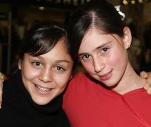 Lucía Barraza y Mónica Madero.