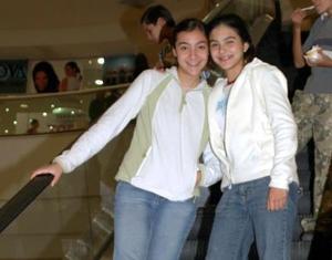 Maribel Tumoine y Mónica Villar.