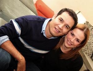 Manuel Villegas y Ana Laura Muruato.