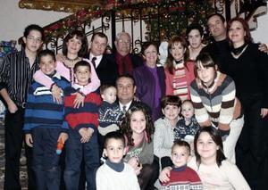 Familias Fernández Elósegui, Fernández Bitár, Fernández González, Garza Fernández y Castillo Fernández.