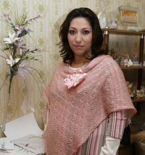 Norma Silveyra de Martínez espera el nacimiento de su bebé.