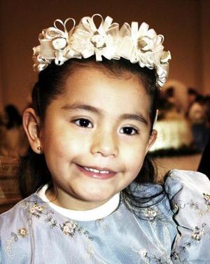 Niña Diana de Santiago.