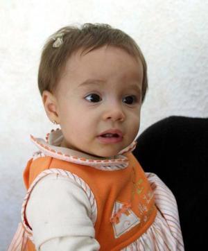 La pequeña Marlene Zorrilla Braham; es hijita de Ciriaco Zorrilla Zorrilla y Yamel Braham de Zorrilla.