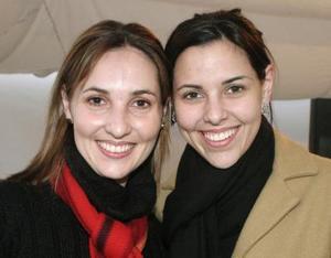 <b>01 de enero de 2005</b> <p> Mariana de Portilla y Mónica de Villalobos, captadas recientemente.