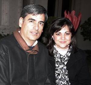 Andrés y Gaby Anaya.
