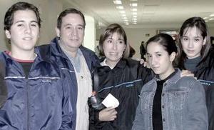 La  Familia Alba García  viajó a Merida, Yucatán.