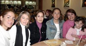 - Anita, Bibi,  Nelly, Lily y Mariángel en Cimaco.