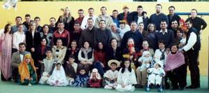 Familia González Nogueira en su reunión anual,  con  motivo de  Navidad y año Nuevo.