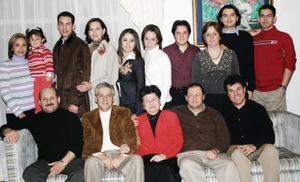 Reunión navideña de la familia  García Cervantes.