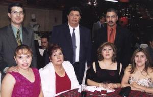 Joaquín Díaz, Miriam López, Jesús Marentes, Susana Rivas, Roberto Contreras, Jovita Herrada y Claudia Maciel.