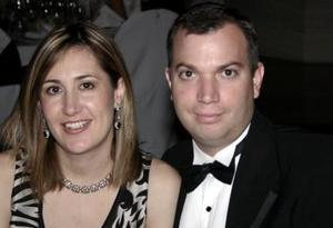 Ana Cristina Rodríguez de Yarza y Javier Yarza.