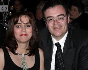 Bety y Eduardo Holguín.
