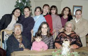 Martha Méndez  González  festejó  su cumpleaños en compañia de familiares  y amigos.