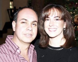 Felipe Ramírez y Ana cristina de la Peña.