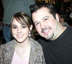 <b>04 de enero de 2005</b> <p> Sofia de Marcos y Jorge Marcos.