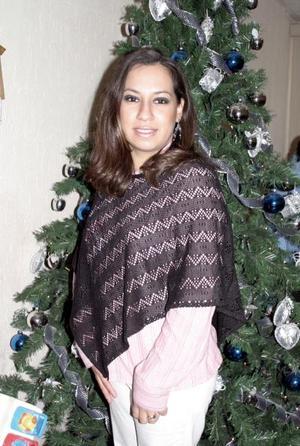 Martha M. de González disfrutó de un agradable  convivio,  con motivo de su cumpleaños.