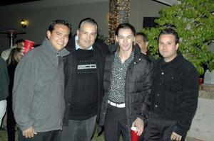 Enrique Galiano, Eduardo Borrego, Antonio Paz, Rogelio García.