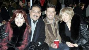 <b>04 de enero de 2005</b> <p> Tomás y Gina Gutiérrez,  Alberto y Gaby Gutiérrez.