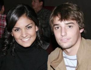 Pamela Díaz y Daniel Salazar