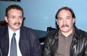 José Alberto Rojas y Gerardo Herrera.