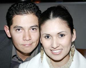 Francisco Arreola y Nasxyely Yáñez Saláis, captados recientemente.