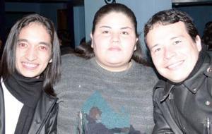 Jesús Hugo Arratia Espino, Velia Soto Arenal y Juan  Pablo Pacheco.