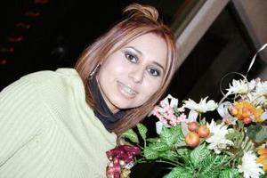 Susana Hernández Ortiz, captada en su despedida de soltera.