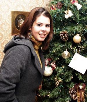 <b>08 de enero de 2005</b> <p> Anace Zarzosa, en reciente festejo.