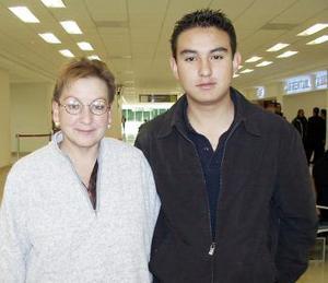 Jaime Gómez y Olga Reyes viajaron a Miami.