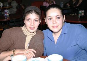 Roxana Montanés Cabral  y  Wendy Ornelas