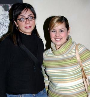 Susana  Barrera y Beatriz Figueroa.