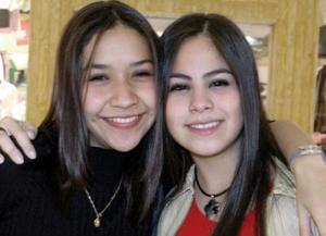 Melissa Huereca y Lily Marín