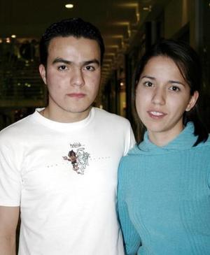 Dulce de Anda y Ramón Cervero