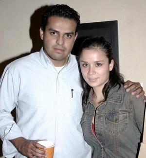 Jorge Ruvalcaba y Alejandra Ávalos