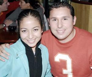 Claudia Leticia Gaeta y Juan Luis Abraham Cueto.
