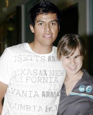 Mauricio Ruvalcaba y Cristina Alcalde.
