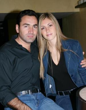 Horacio González y Ana de González..