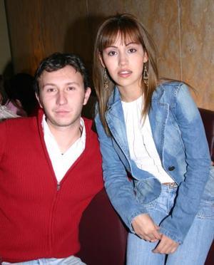 Lily Méndez y Alex Vázquez..