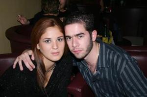 <b>10 de enero de 2005</b> <p> Sandra Villa y Miguel Vesuña.
